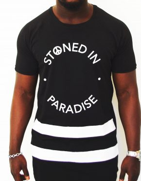 STONED IN PARADISE BLACK